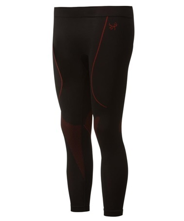 2AS 2AS High Performance Termal Erkek Alt İçlik Siyah/Kırmızı Siyah